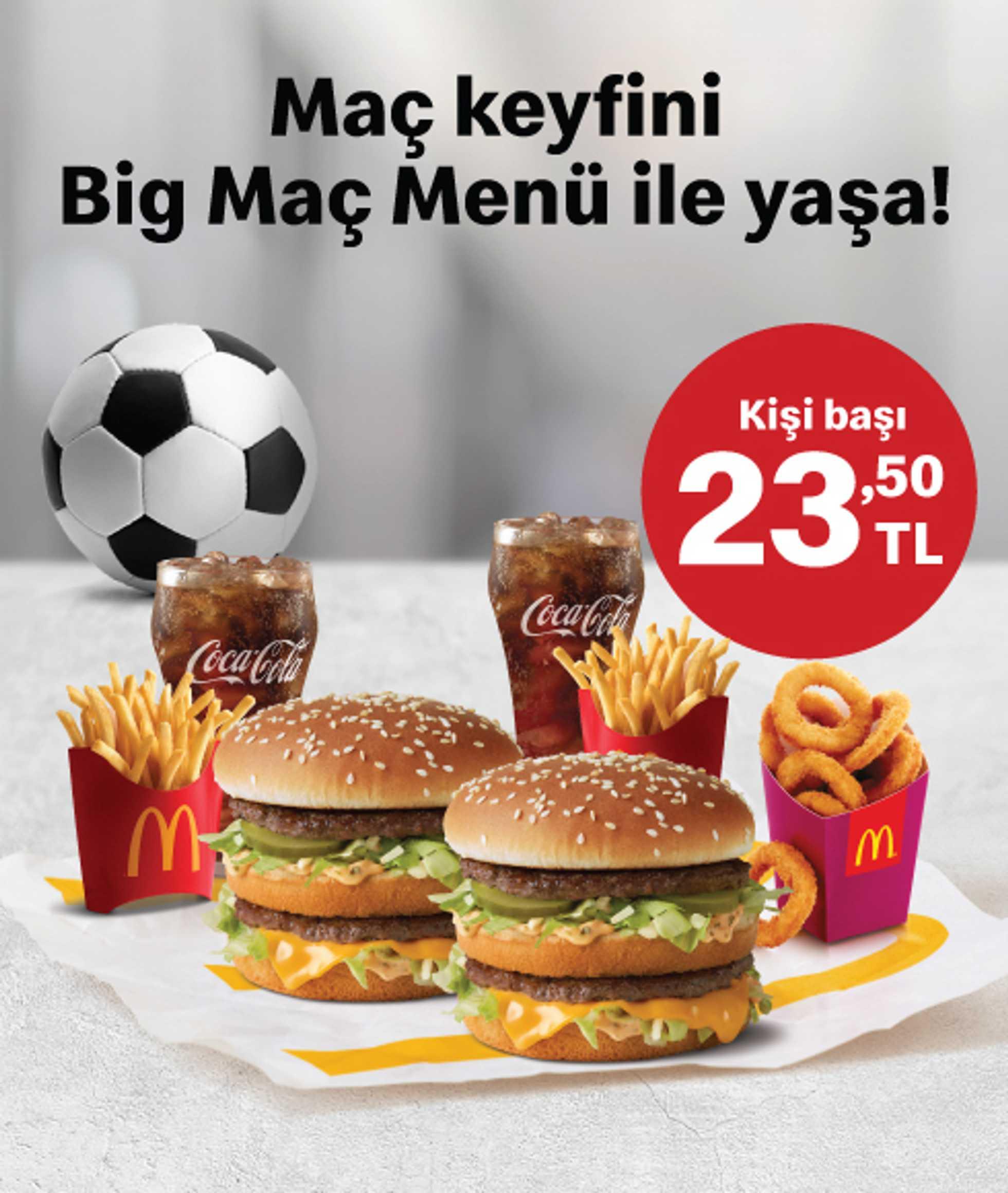McDonald's - indirimler 01.06.2020 tarihinden başlayıp 31.07.2020 - tarihine kadar devam ediyor. Sayfa 1.