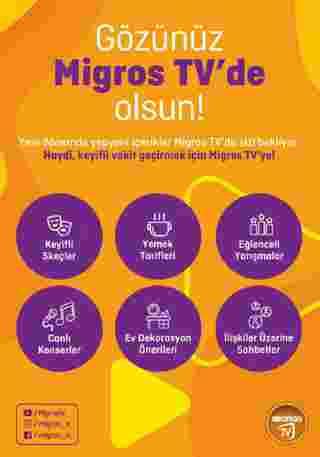 Migros - indirimler 26.11.2020 tarihinden başlayıp 09.12.2020 - tarihine kadar devam ediyor. Sayfa 68.