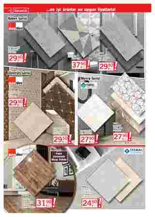 Bauhaus - indirimler 01.01.2021 tarihinden başlayıp 31.01.2021 - tarihine kadar devam ediyor. Sayfa 14.
